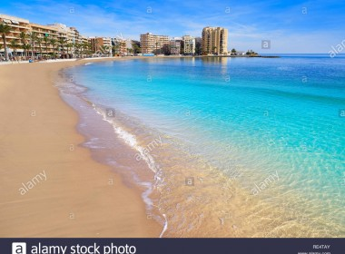 playa-del-cura-beach-in-torrevieja-of-alicante-spain-at-costa-blanca-RE4TAY